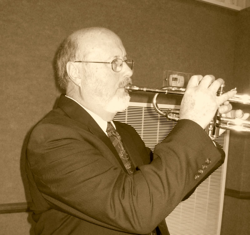 Dave Richards on Trumpet