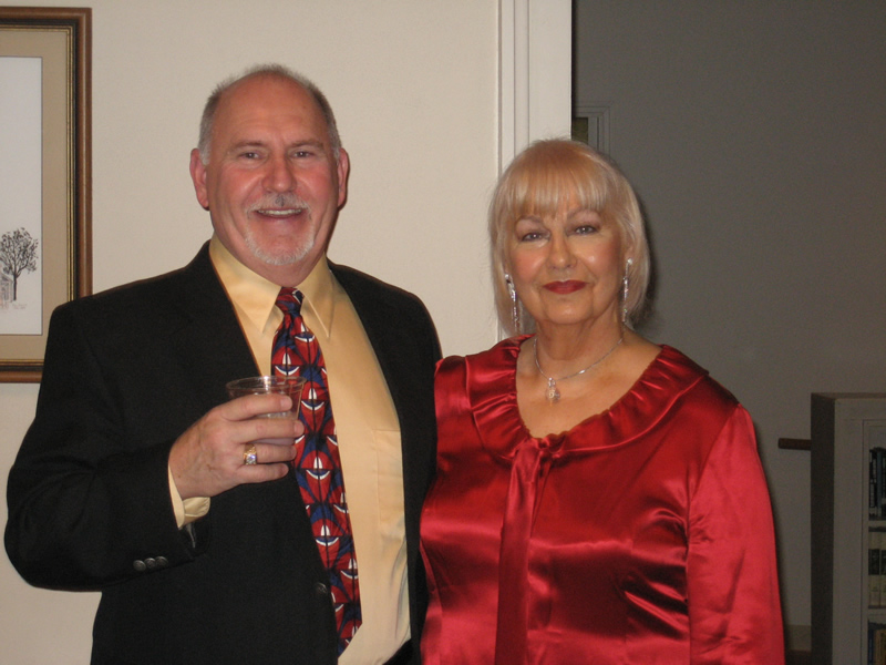 Phyllis & Don Duo at Retirement Dinner
